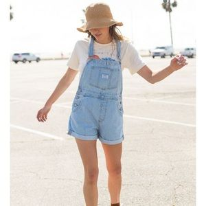 NWT Levi's Vintage Denim Shortall Overall